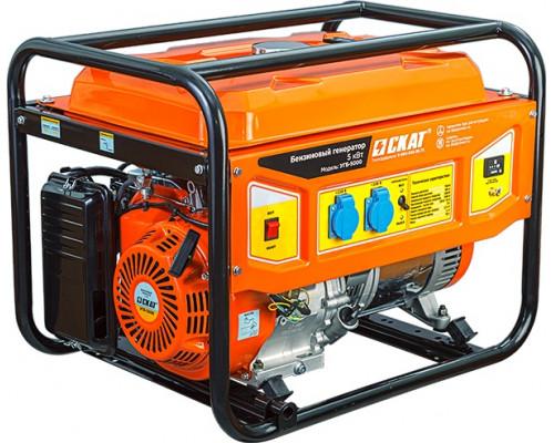 Бензиновый генератор СКАТ УГБ-5000