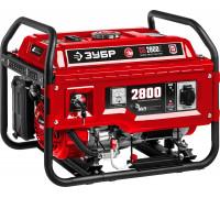 Генератор бензиновый ЗУБР СБ-2800Е