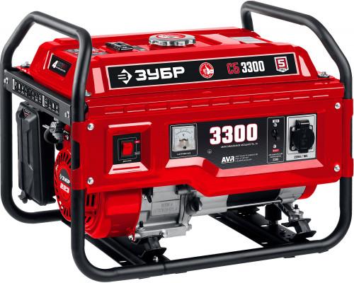 Генератор бензиновый ЗУБР СБ-3300