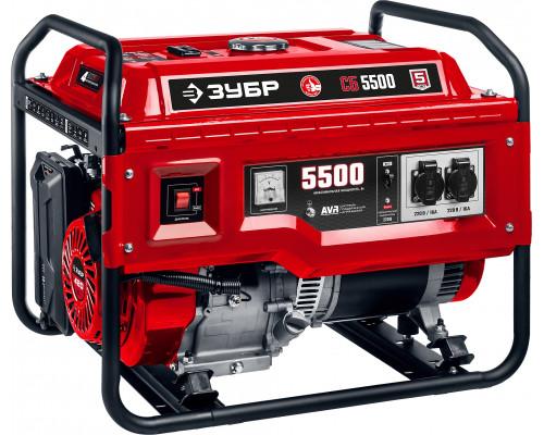 Генератор бензиновый ЗУБР СБ-5500