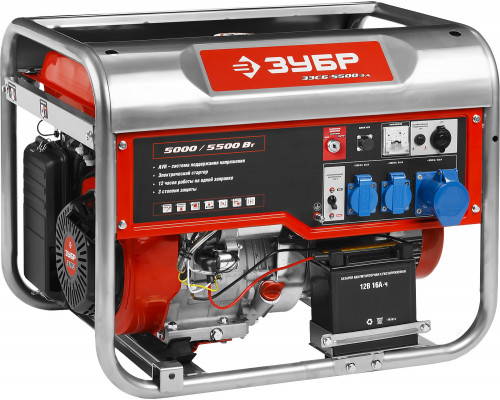 Генератор бензиновый STEHER GS-8000Е