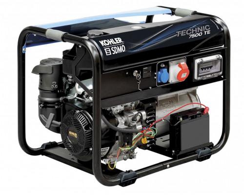 Бензиновый генератор SDMO TECHNIC 7500 TE