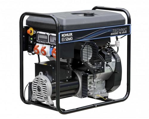 Бензиновый генератор SDMO TECHNIC 20000 TE AVR C