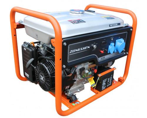 Генератор бензиновый ZONGSHEN PB 7000 E