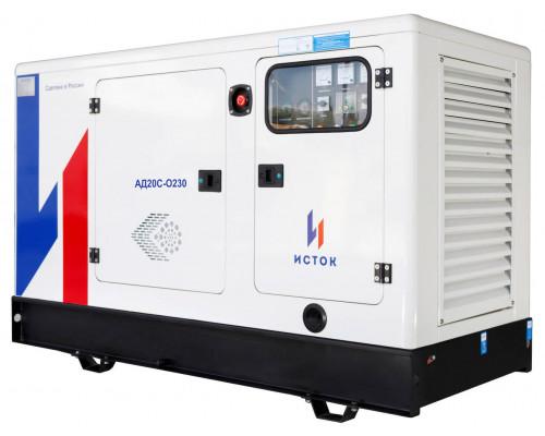 Дизельный генератор ИСТОК АД20С-Т400-РПМ25